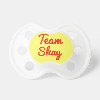 Equipo Shay Chupete