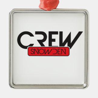 Equipo Snowden Ornamentos De Navidad