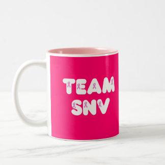 Equipo SNV Taza