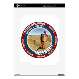 Equipo solitario 167A de los montañeses de la Calcomanías Para iPad 2
