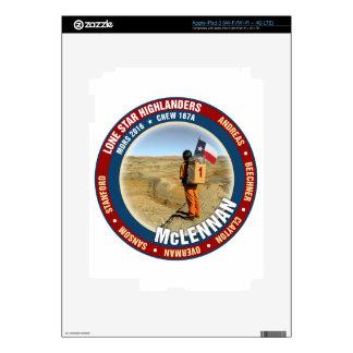Equipo solitario 167A de los montañeses de la iPad 3 Skins