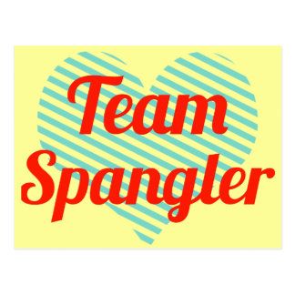 Equipo Spangler Tarjeta Postal