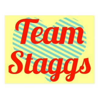 Equipo Staggs Postal