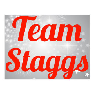 Equipo Staggs Postales
