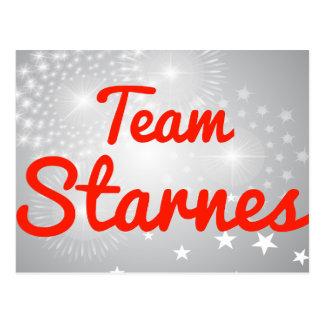 Equipo Starnes Postales