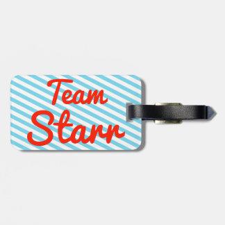 Equipo Starr Etiquetas Maleta