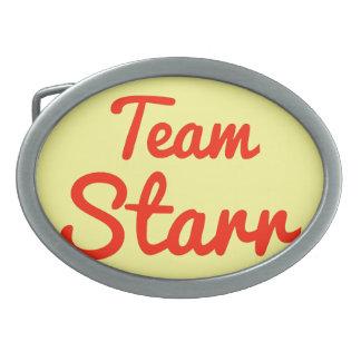 Equipo Starr Hebilla De Cinturon Oval