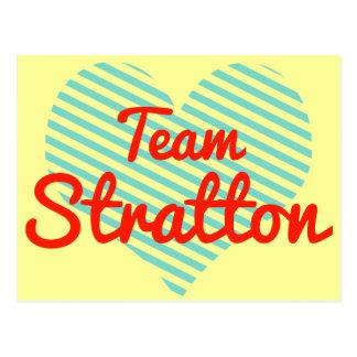 Equipo Stratton Tarjeta Postal