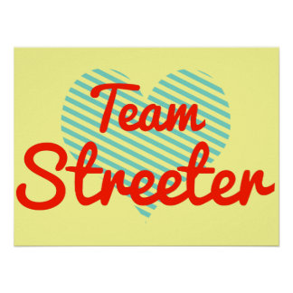 Equipo Streeter Poster