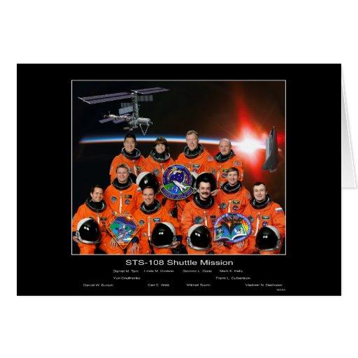 Equipo STS-108 de la lanzadera Missio… - Modificad Tarjetas