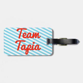 Equipo Tapia Etiquetas Para Maletas