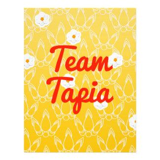 Equipo Tapia Tarjeta Publicitaria