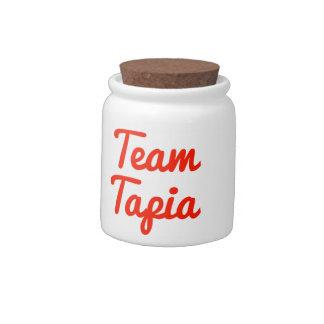 Equipo Tapia Platos Para Caramelos