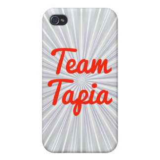 Equipo Tapia iPhone 4 Protectores