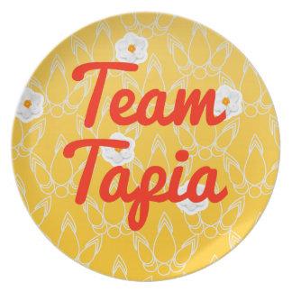 Equipo Tapia Plato De Comida