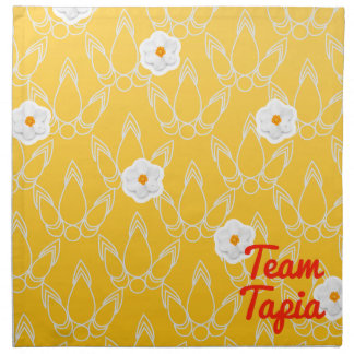 Equipo Tapia Servilletas Imprimidas
