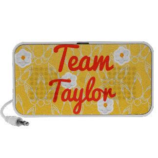 Equipo Taylor iPod Altavoces