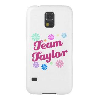 Equipo Taylor con acentos de la flor Funda Para Galaxy S5