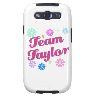 Equipo Taylor con acentos de la flor Samsung Galaxy SIII Funda