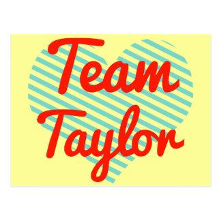 Equipo Taylor Postal