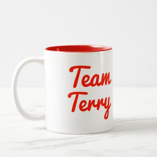 Equipo Terry Taza De Café