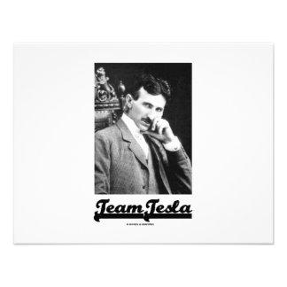 Equipo Tesla Nikola Tesla Comunicado Personalizado