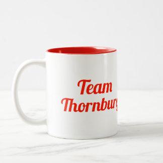 Equipo Thornburg Taza