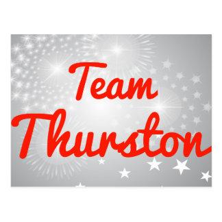 Equipo Thurston Postal