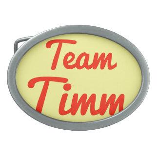 Equipo Timm Hebillas Cinturón