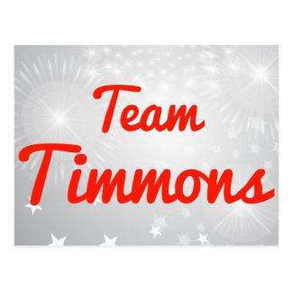 Equipo Timmons Postal