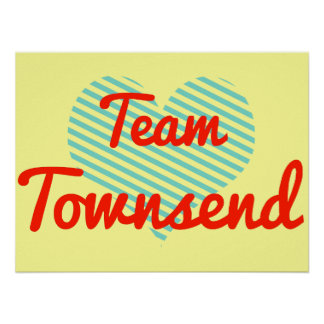 Equipo Townsend Poster
