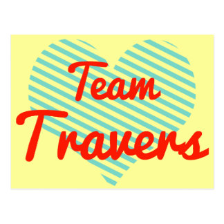 Equipo Travers Tarjetas Postales