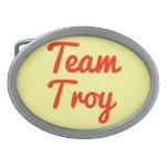 Equipo Troy Hebilla Cinturon Oval