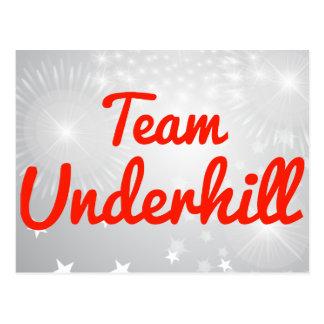 Equipo Underhill Postales