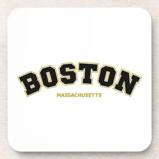 Equipo universitario de Boston Posavasos