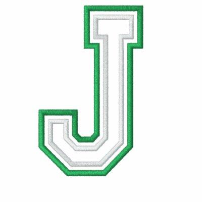 Equipo universitario J Chamarra De Deporte Bordada