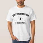 Equipo universitario Wisconsin Foosball Playera