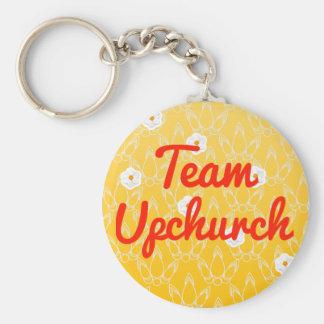 Equipo Upchurch Llavero Personalizado