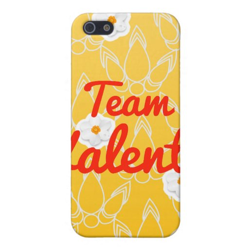 Equipo Valentín iPhone 5 Carcasas