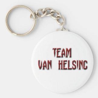 Equipo Van Helsing Llavero Redondo Tipo Pin