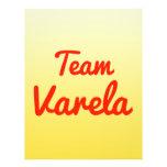 Equipo Varela Flyer A Todo Color