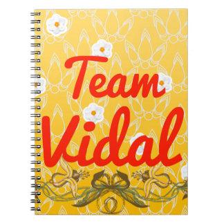 Equipo Vidal Libretas