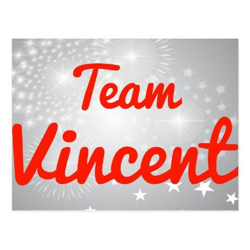 Equipo Vincent Postales