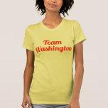 Equipo Washington Camisetas