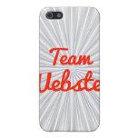 Equipo Webster iPhone 5 Cárcasa
