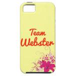 Equipo Webster iPhone 5 Case-Mate Coberturas