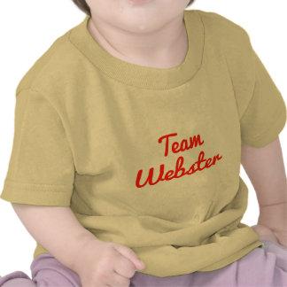 Equipo Webster Camisetas