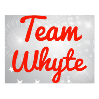 Equipo Whyte Postales