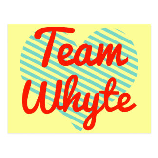Equipo Whyte Postal