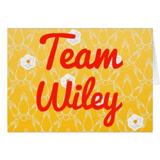 Equipo Wiley Tarjeton